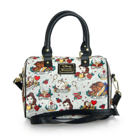 Bolso Loungefly Disney: The Beauty and the Beast (Tattoo)