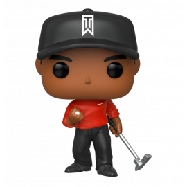 Figura FUNKO POP! Vinyl Golf: Tiger Woods (Red Shirt)