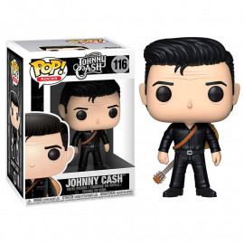 Figura FUNKO POP! Vinyl Rocks: Johnny Cash in Black