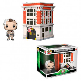 Figura FUNKO POP! Vinyl Ghostbusters: Peter w/ House