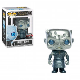 Figura FUNKO POP! Vinyl Game of Thrones: Night King (Metallic) Ex.