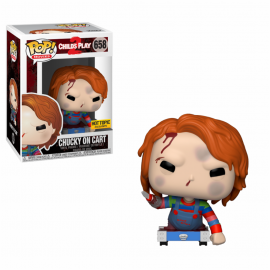 Figura FUNKO POP! Vinyl Child's Play 2: Chucky on Cart Ex.