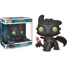 "Figura FUNKO POP! Vinyl How to Train your Dragon: Toothless 10"" Ex."