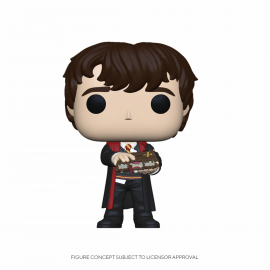 Figura FUNKO POP! Vinyl Harry Potter: Neville w/ Monster Book