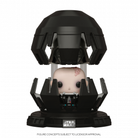 Figura FUNKO POP! Vinyl Star Wars: Darth Vader in Meditation Chamber