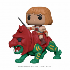 Figura FUNKO POP! Vinyl Master of the Universe: He-Man on Battle Cat