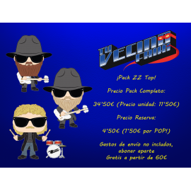 ¡Pack POP! Rocks: ZZ Top!