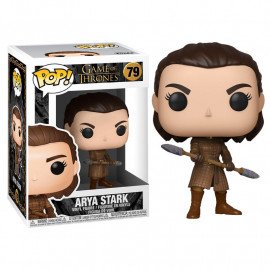 Figura FUNKO POP! Vinyl Game of Thrones: Arya w/ Two Headed Spear