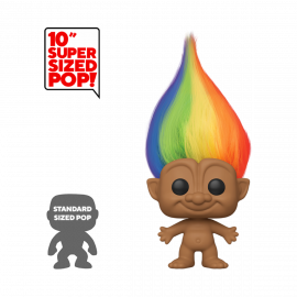 Figura FUNKO POP! Vinyl Trolls: Troll Multicolored Hair 10""