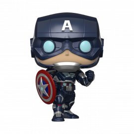 Figura FUNKO POP! Vinyl Avengers Game: Captain America (Stark Tech Suit)