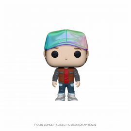 Figura FUNKO POP! Vinyl Town Back to the Future: Marty in Future Outfit