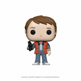 Figura FUNKO POP! Vinyl Town Back to the Future: Marty in Puffy Vest