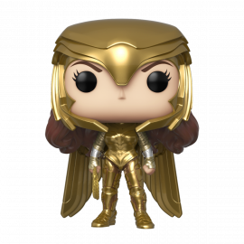 Figura FUNKO POP! Vinyl DC Wonder Woman 1984: Wonder Woman (Gold Power Pose)