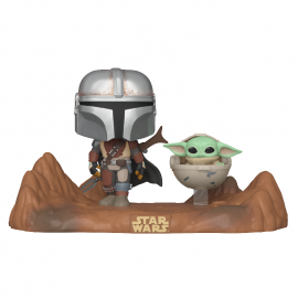 Figura FUNKO POP! Vinyl Star Wars The Mandalorian: Mandalorian & The Child