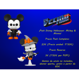 ¡Pack Disney Halloween: Mickey & Minnie!