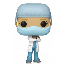 Figura FUNKO POP! Heroes: Front Line Worker - Female 1