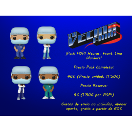 ¡Pack POP! Héroes: Front Line Workers!