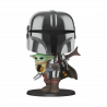 Figura FUNKO POP! Vinyl Star Wars The Mandalorian: Mandalorian 10""