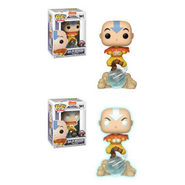 Figura FUNKO POP! Vinyl Avatar, La Leyenda de Aang: Aang on Air Bubble