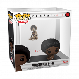 Figura FUNKO POP! Vinyl Rocks Albums Notorious B.I.G: Biggie Smalls w/ Acrylic Case