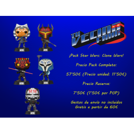 ¡Pack Star Wars: Clone Wars!