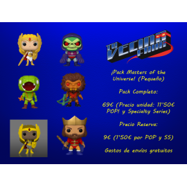 ¡Pack Masters of the Universe! (Pequeño)