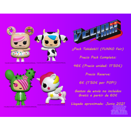 ¡Pack Tokidoki! (FUNKO Fair 2021)
