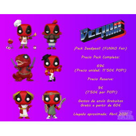 ¡Pack Deadpool! (FUNKO Fair 2021)