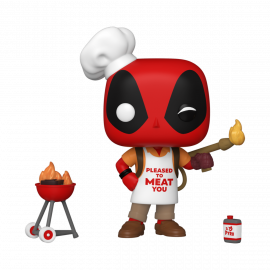 Figura FUNKO POP! Vinyl MARVEL Deadpool 30th: Backyard Griller Deadpool