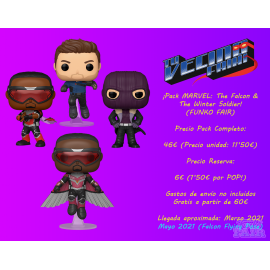 ¡Pack MARVEL: The Falcon & The Winter Soldier! (FUNKO Fair 2021)