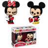 Pack de 2 Figuras FUNKO POP! Vinyl Disney: Mickey & Minnie Valentine