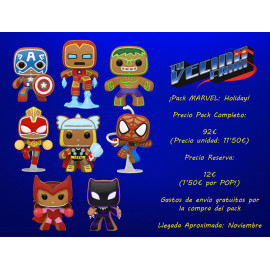 ¡Pack MARVEL: Holiday!